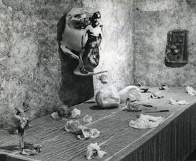 Exhibition at the Aurora Gallery, Genewa 1971