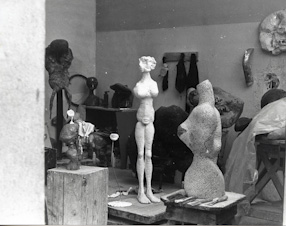 Studio in Malakoff, 1967
