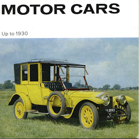 """Motor cars up to 1950"" catalogue."