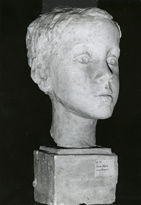 Boy\'s head II, 1952-1953