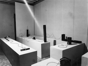 Exhibition at the Foksal Gallery, 1968