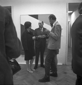 Maria Stangret\\\'s exhibition, 1967