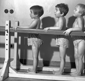 Children\\\'s orthopedic sanatorium in Konstancin-Jeziorna, 1957/59