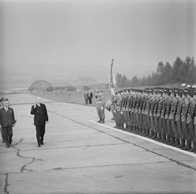 Charles de Gaulle visiting Poland, 1967