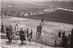 Sunday at the 10th-anniversary stadium in Warsaw, 1959