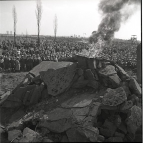 Construction of Monument to the Victims of Fascism in Auschwitz, 1967