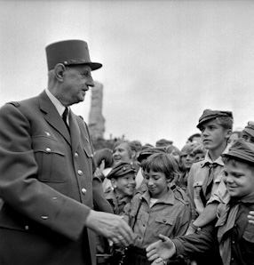 Charles de Gaulle\'s official visit in Poland, 1967