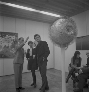 Edward Narkiewicz\'s exhibition at the Foksal Gallery, 1968