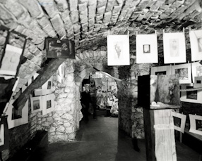 Popular Exhibition, Krzysztofory Gallery, Cracow 1963
