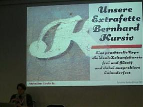 WWB TV.Typespotting Lecture by Verena Gerlach