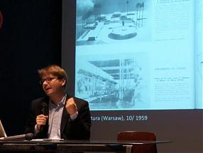WWB TV. Post-War Modernism in Africa Lecture by Łukasz Stanek