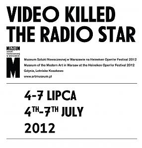 Video Killed the Radio Star Exhibition catalogue
