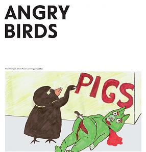 Angry Birds Exhibition catalogue