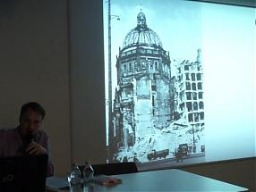 WWB TV. Monument to modernity Lecture by Robert Burghardt