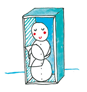 Collection in action! Snowman\'s story