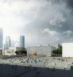 Here is the design of the new buildings for our Museum and TR Warszawa