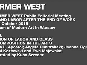 Former West Division of Labor and Class (Re)Composition in the Arts
