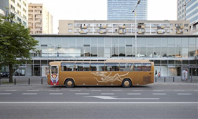 Złoty autobus
