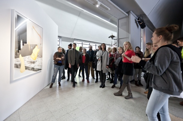 Curatorial guided tour