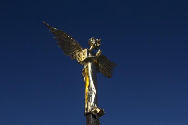 Latający Uniwersytet Parku Rzeźby. Anioł Stróż