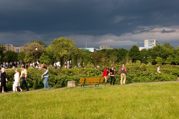 Oprowadzanie po Parku Rzeźby na Bródnie