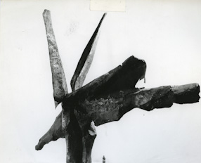 Scream. Monument of the Heroes of Warsaw II, project, 1957