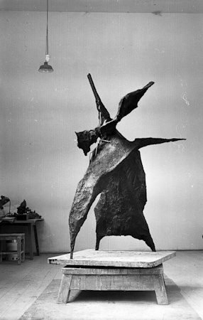 Monument of the moving star, 1961