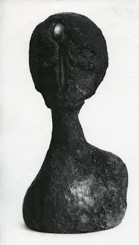 Head with a spoon, 1966