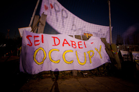 Indignados | Occupy Biennale