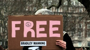 Bradley Manning Solidarity Protest