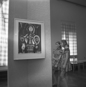Pablo Picasso exhibition, 1969