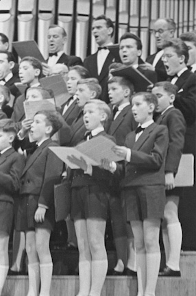 """Poznań Nightingales"", 1960 Boys Choir"