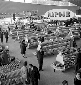"""Supersam"" store opening, 1962"