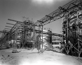 Nitrogen plants in Puławy, 1965