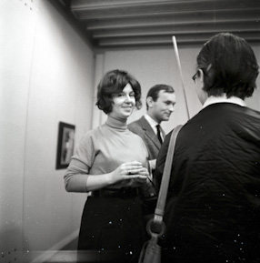 The inaugural exhibition, 1966