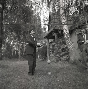 Visit of Pierre Restany, 1968
