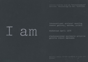 I AM. INTERNATIONAL ARTISTS MEETING
