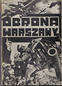 The Defense of Warsaw. Polish people in defense of the capital (September 1939), 1942