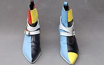 Constructivist shoes of Rockebilly type, 2000