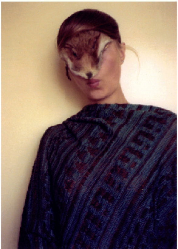 Untitled (Self with Little Fur) , 1974/2011
