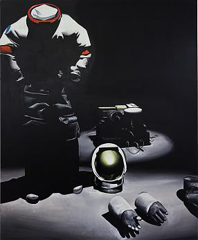 Wilhelm Sasnal Untitled (The Astronaut), 2011