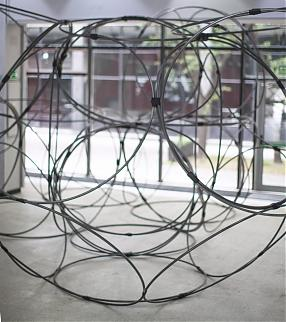 Yona Friedman Iconostase (Protenic Structure – Space Chain), 2010