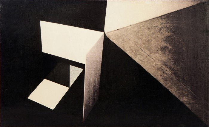 R.H. Quaytman, Replica of Kobro\'s Spatial Composition 2 (1928), 2000
