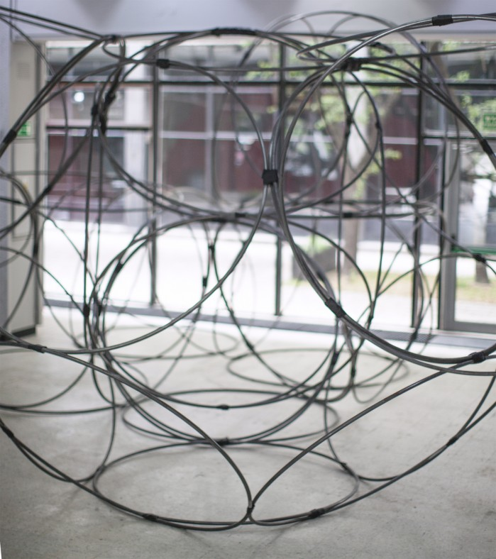 Yona Friedman, Iconostase (Protenic Structure – Space Chain), 2010