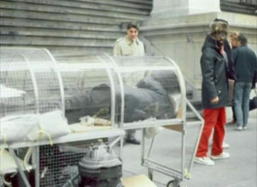 Krzysztof Wodiczko Homeless Vehicle Project, 1988