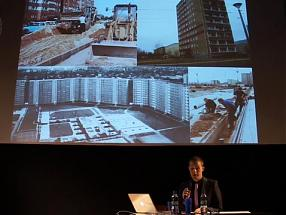 WWB TV. Architecture After Socialism: Is Postmodernism All Right?  Lecture Max Hirsh