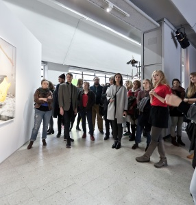 Curatorial guided tour  of the \