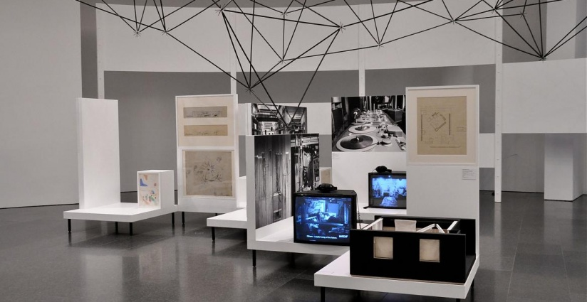 D Exhibition Design : Oskar hansen open form museum of modern art in warsaw